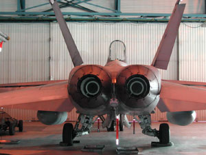 Fiberglass composites used in F15 ground support